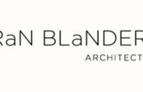 """רן בלנדר – אדריכלות ובינוי ערים בע""""מ"""